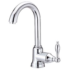Fairmont Single Handle Single Hole Kitchen Faucet with Swivel Spout