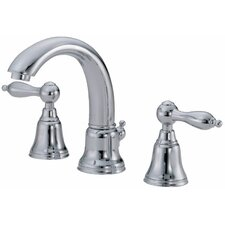 Fairmont Mini-Widespread Bathroom Sink Faucet with Double Lever Handles