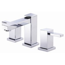 Reef Widespread Bathroom Sink Faucet with Double Lever Handles