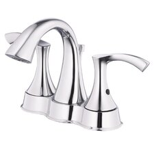 Antioch Two Handle Centerset Bathroom Faucet