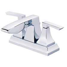 <strong>Danze®</strong> Logan Square Double Handle Centerset Bathroom Faucet with Pop-Up Drain