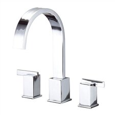 Sirius Double Handle Deck Mount Roman Tub Faucet Trim