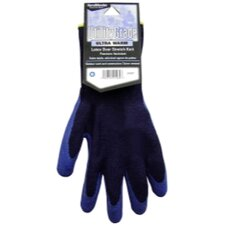 Navy Blue, Winter Knit, Latex Coated Palm