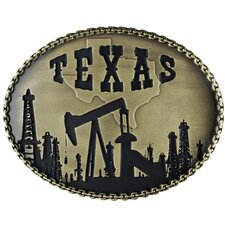 Texas Oil Buckle