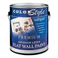 1 Gallon White ColorStyle® Interior Latex Flat Wall Paint