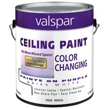 <strong>Valspar</strong> Premium White Interior Latex Ceiling Paint