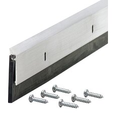 Door Sweep with Drip Cap (Set of 6)