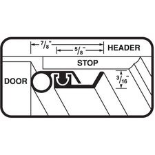 Universal Door Weather Strip