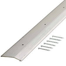 "Fluted 1.88"" Carpet Trim in Silver"