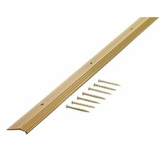 "Fluted 1.88"" Carpet Trim in Satin Brass"