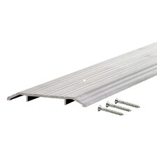 "0.5"" x 4"" Aluminum Heavy Duty Fluted Top Threshold"