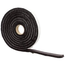 High Density Sponge Rubber Foam Weatherstrip Tape