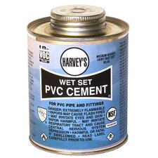 Wet Set PVC Cement