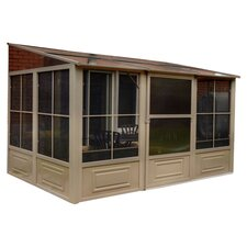 "Four Season Add-A-Room 12' W x 10' 2"" D Gazebo"