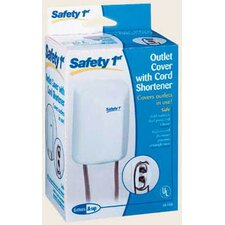 <strong>Safety 1st</strong> Dorel Juvenile Outlet Cover with Cord Shortener