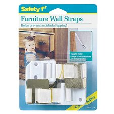 <strong>Safety 1st</strong> Dorel Juvenile Furniture Wall Strap (Set of 2)