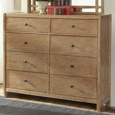 Natural Elements 8 Drawer Dresser