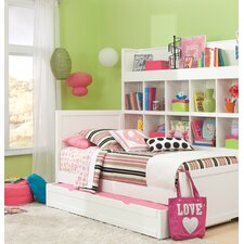 Smart Solutions Twin Panel Bed and Bookcase