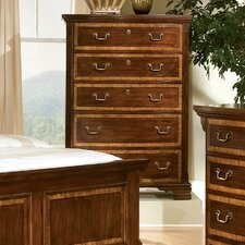 <strong>American Woodcrafters</strong> Wellington Manor 5 Drawer Chest