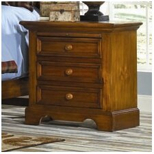 Eagles Nest 3 Drawer Nightstand