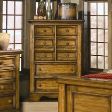 <strong>American Woodcrafters</strong> Eagles Nest 5 Drawer Chest