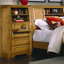Casual Home Pier 4 Drawer Nightstand