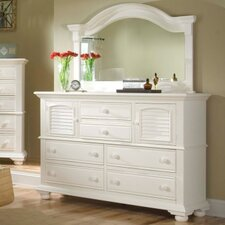 <strong>American Woodcrafters</strong> Cottage Traditions 6 Drawer Combo Dresser