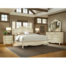 <strong>American Woodcrafters</strong> Chateau Sleigh Bedroom Collection