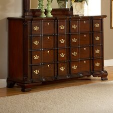 <strong>American Woodcrafters</strong> Lasting Traditions Triple Dresser and Mirror Set