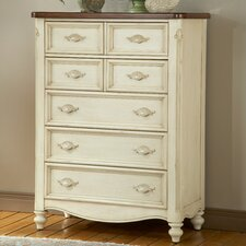 <strong>American Woodcrafters</strong> Chateau 5 Drawer Chest