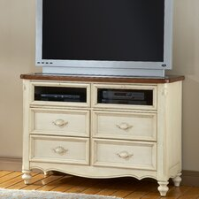 <strong>American Woodcrafters</strong> Chateau Entertainment 4 Drawer Chest