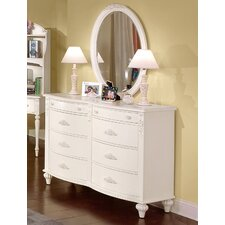 <strong>American Woodcrafters</strong> Cheri 6-Drawer Dresser Set