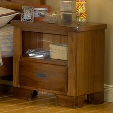 <strong>American Woodcrafters</strong> Heartland 1 Drawer Nightstand
