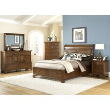 Nantucket Sleigh Storage Bedroom Collection