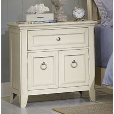 Courtyard 1 Drawer Nightstand