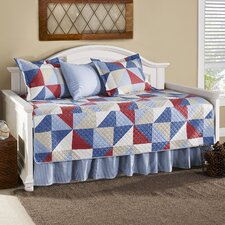 Chelan 5 Piece Quilted Daybed Set