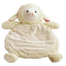 Baby Mat with Lamb in White