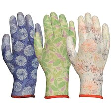 Women's Assorted Breathable Polyurethane Palm Gloves