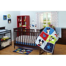 Mickey Mouse Crib Bedding Collection