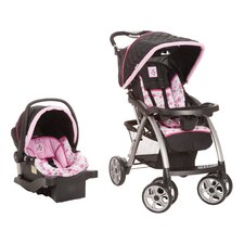 <strong>Disney Baby</strong> Saunter Luxe Floral Minnie Travel System