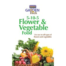 Garden Rich Flower and Vegetable Food