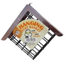Hanging Suet Cake Bird Feeder