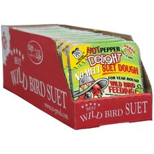 11.75 oz. Hot Pepper Delight Wild Bird No Melt Suet Dough