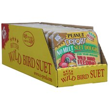 11.75 oz. Peanut Delight Wild Bird No Melt Suet Dough