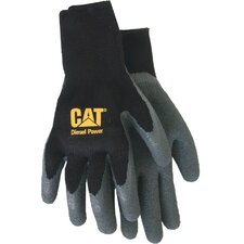 <strong>CAT</strong> Rainwear Boss Fully Coated Latex Palm Gloves in Black