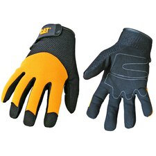 Rainwear Boss Spandex Back Gloves in Yellow