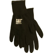 Rainwear Boss Large Heavy Gauge String Knit Gloves in Black
