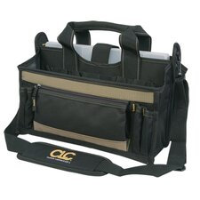 "16"" 15 Pocket Center Tray Tool Bag"