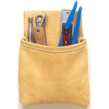 <strong>Custom Leathercraft</strong> Single Pocket Nail & Tool Pouch 444X