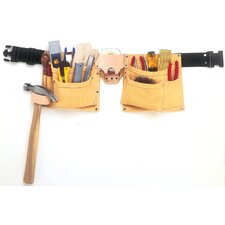 8 Pocket Suede Heavy Duty Work Belt Apron I370X3